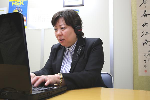 オンライン中国語講師