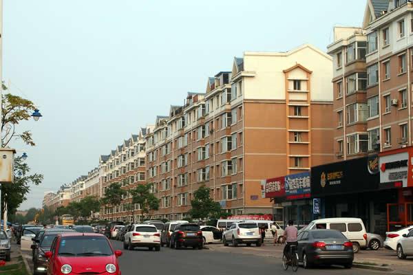 中国の街のイメージ
